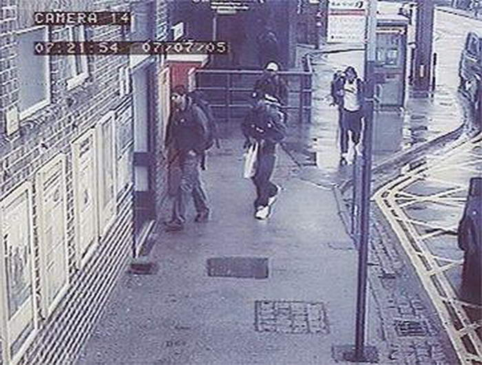 2005 London bombings CCTV