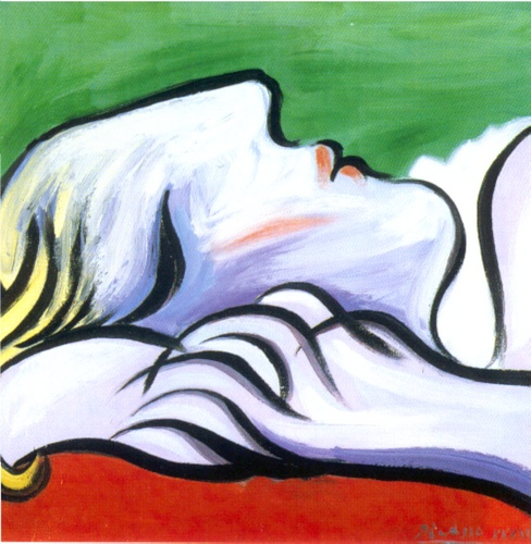 Asleep By Pablo Picasso