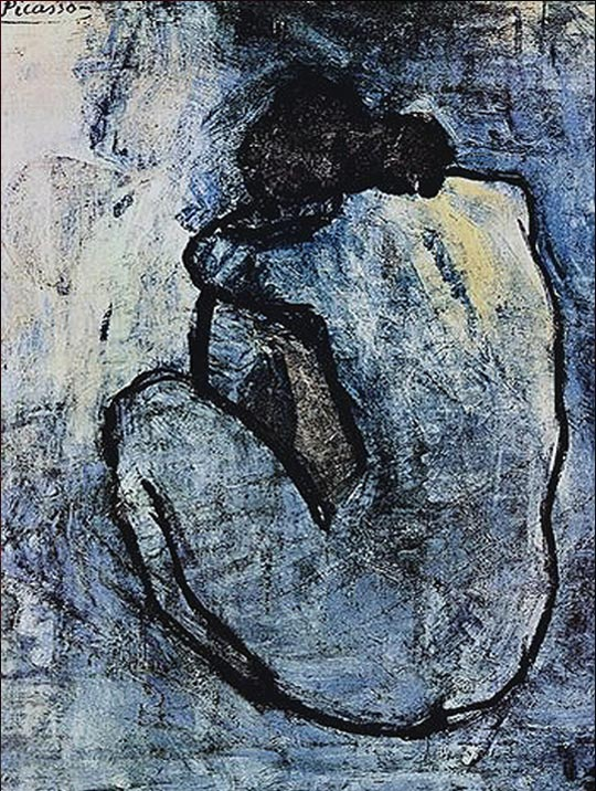 Blue Nude By Pablo Picasso