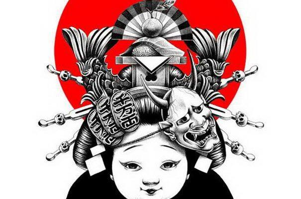Most Beautiful Japanese Style Illustrations By Shohei Otomo