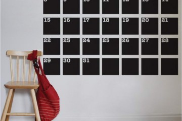 Calender Decal