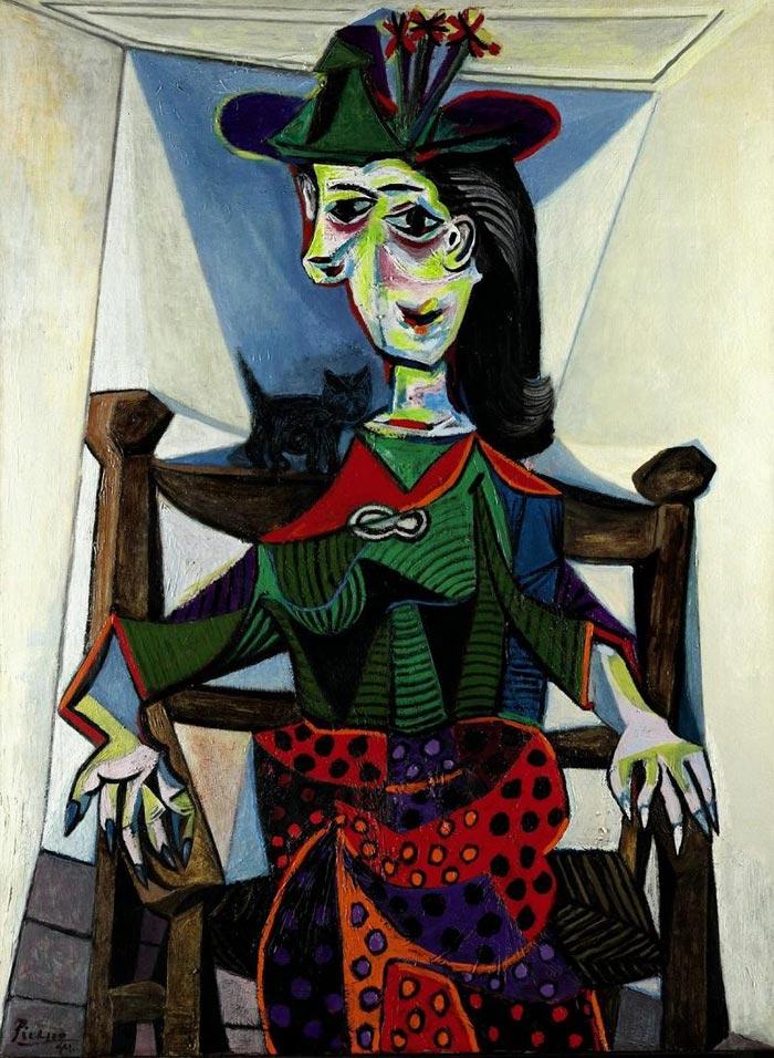 Dora Maar au Chat By Pablo Picasso - Most Famous Pablo Picasso Artworks