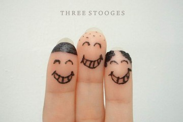Happy Three Stoogies by VintageWarmth