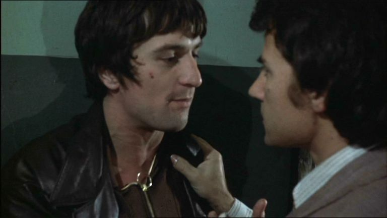 Harvey Keitel With Robert De Niro From Mean Streets
