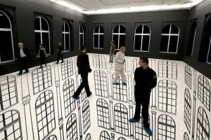 Illusions By Regina Silveira (8)