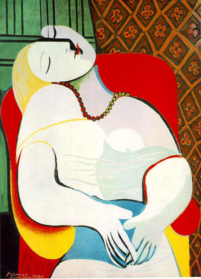 Le Rêve (The Dream) By Pablo Picasso