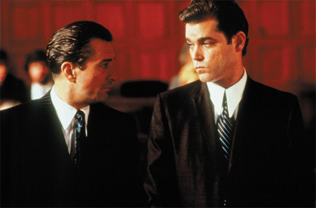 Robert De Niro With Ray Liotta in Goodfellas