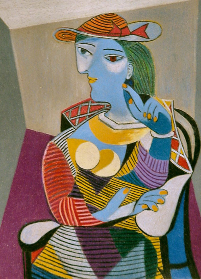 Seated Woman (Marie-Therese) By Pablo Picasso