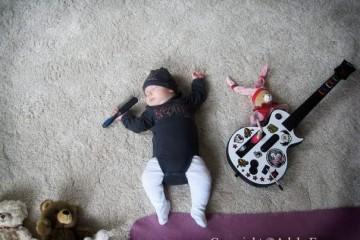 Sleeping Baby By Adele Enersen (5)