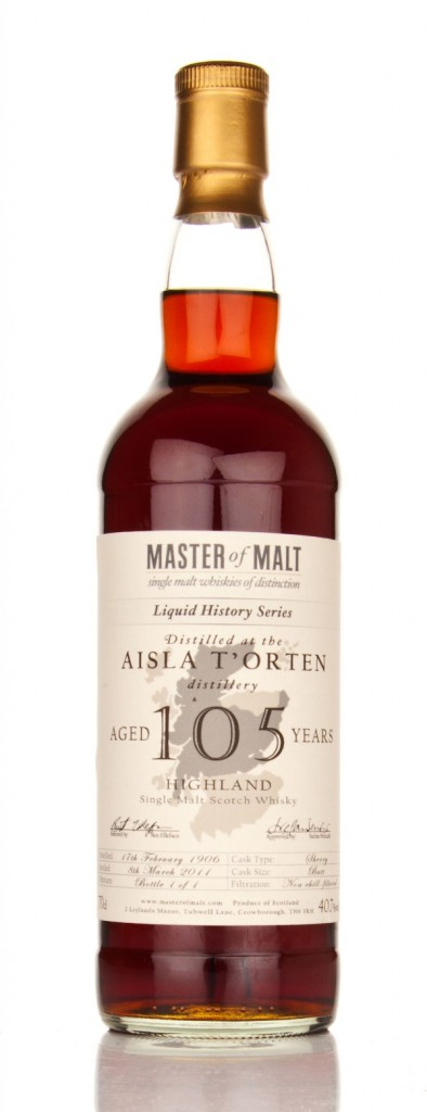 105 Year Old Master of Malt