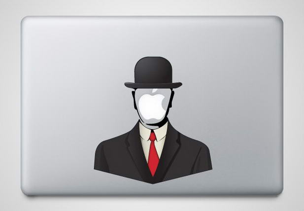 Anonymous Macbook Sticker