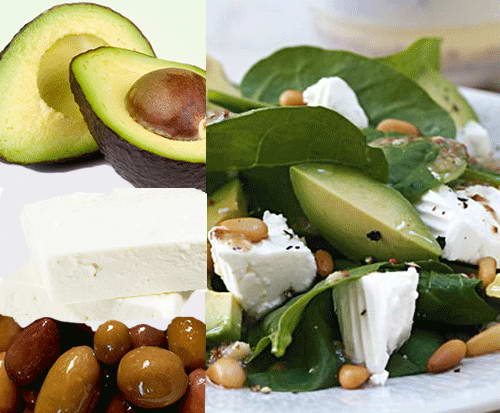 Avocado and Olive Oil