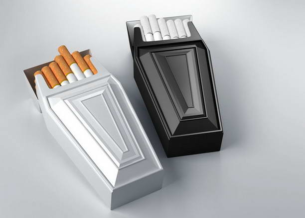 Coffin Smoke Box