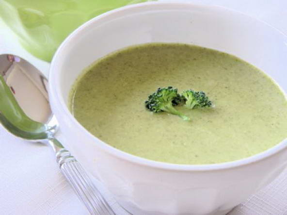 10 – Cream of Broccoli Soup