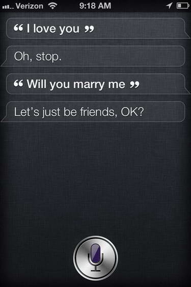 I love you siri