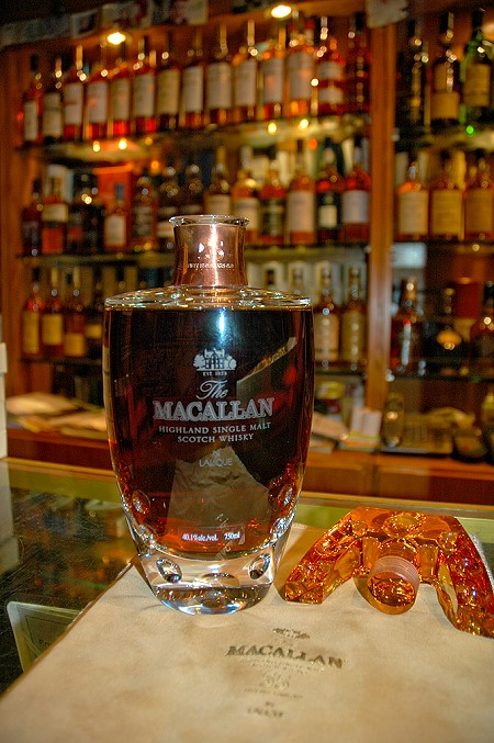 Macallan 55 Year old Lalique Crystal - Most Expensive Whiskeys in the World