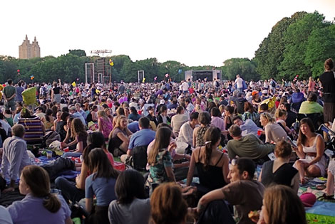 New York Philharmonic in Central Park (1986)