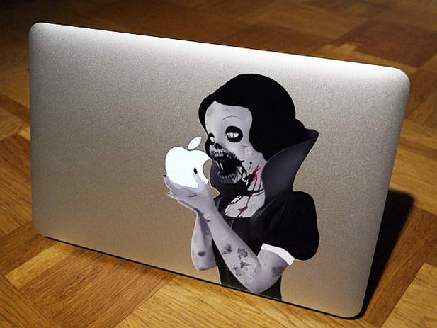 Princess Macbook Sticker
