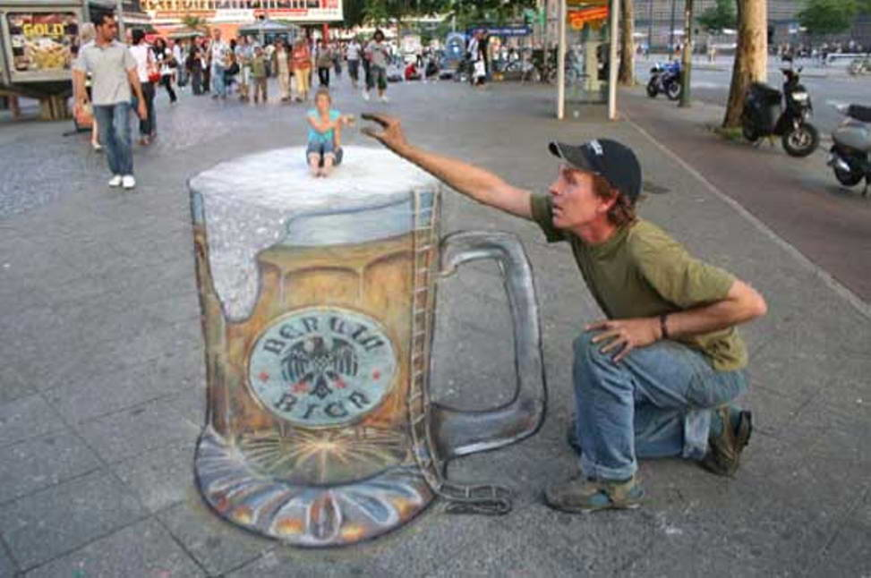 Sidewalk Art Beer
