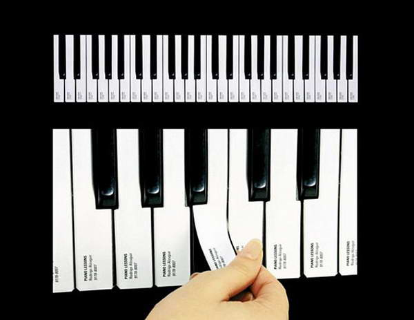 Tear Off A Piano Key