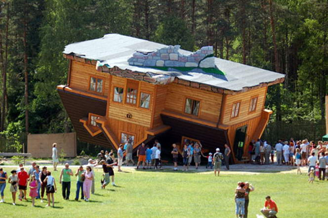 Upside Down House Most Creative Buildings