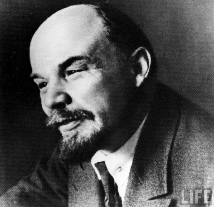 He might as well have been   Lenin