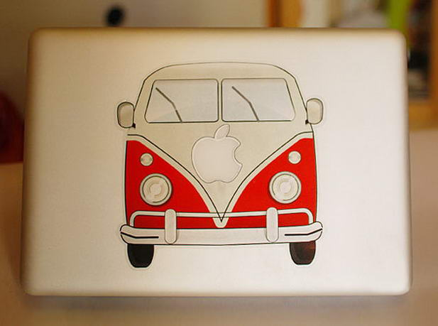 Wolkswogen Macbook Sticker