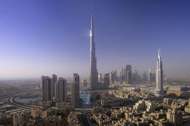 Burj Khalifa Tallest towers