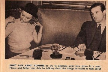 Dont Talk About Your Clothes tips for single women