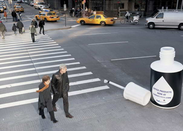 Fedex Crosswalk Ad