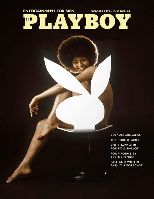 First Playboy African-American Woman