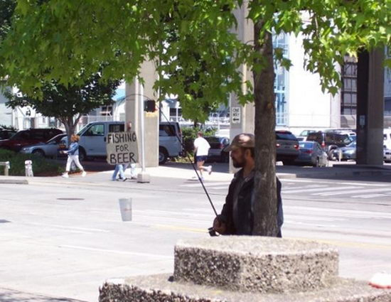 Fishing Homeless