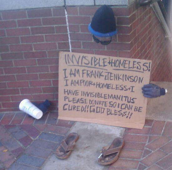 Invisible Homeless