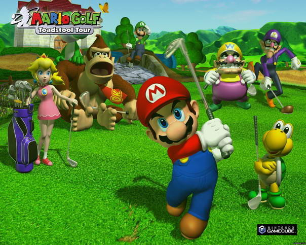 Mario Golf Successful Super Mario Games
