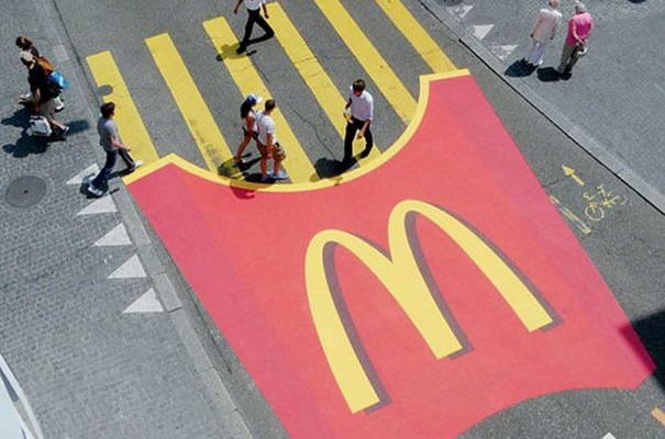 McDonalds Crosswalk