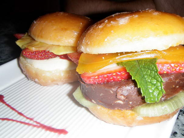 Nutella Hamburger ways to eat nutella