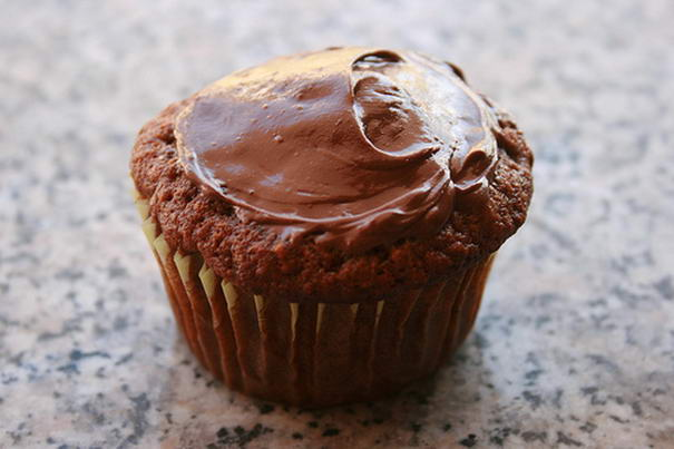 Nutella On Muffin