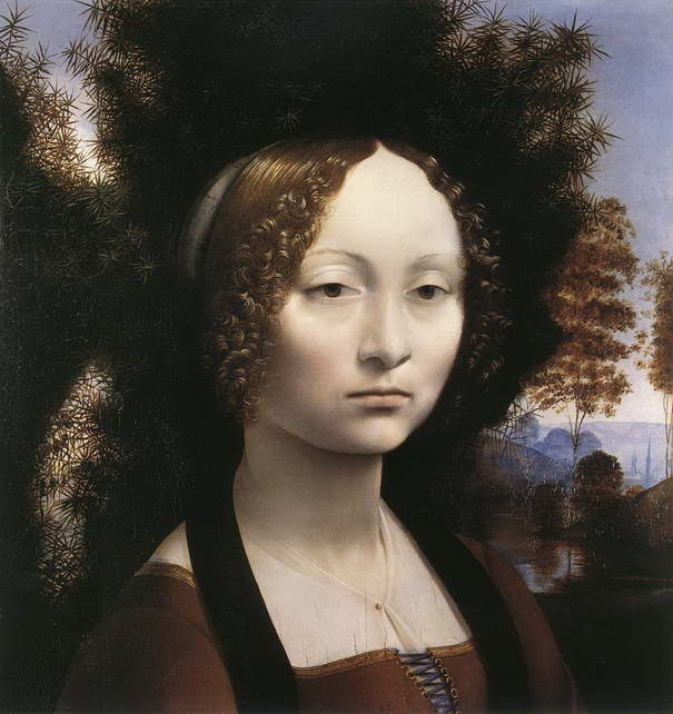 Portrait of Ginevra de' Benci