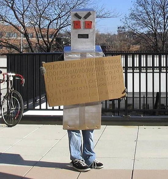 Robot Homeless
