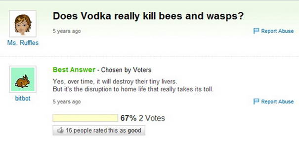 Vodka Killing Bees