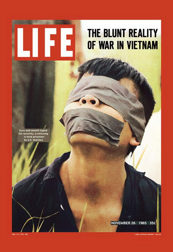 War In Vietnam Controversial Magazine Covers