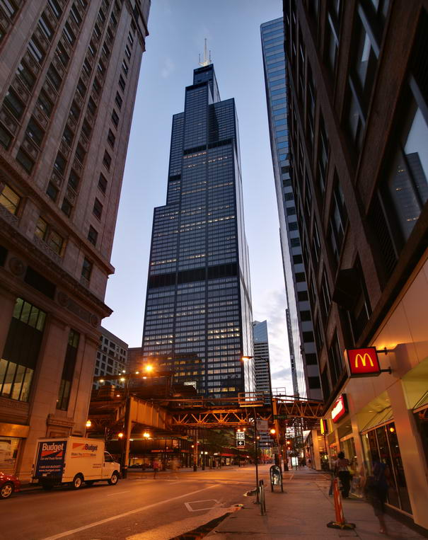 Willis Tower Tallest Buildings