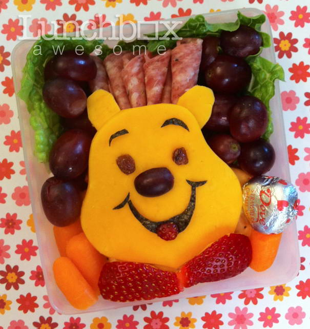Winnie The Pooh Lunchbox With Cartoon Look