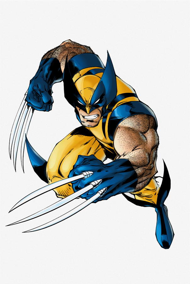 Wolverine Famous Comic Book Superheroes