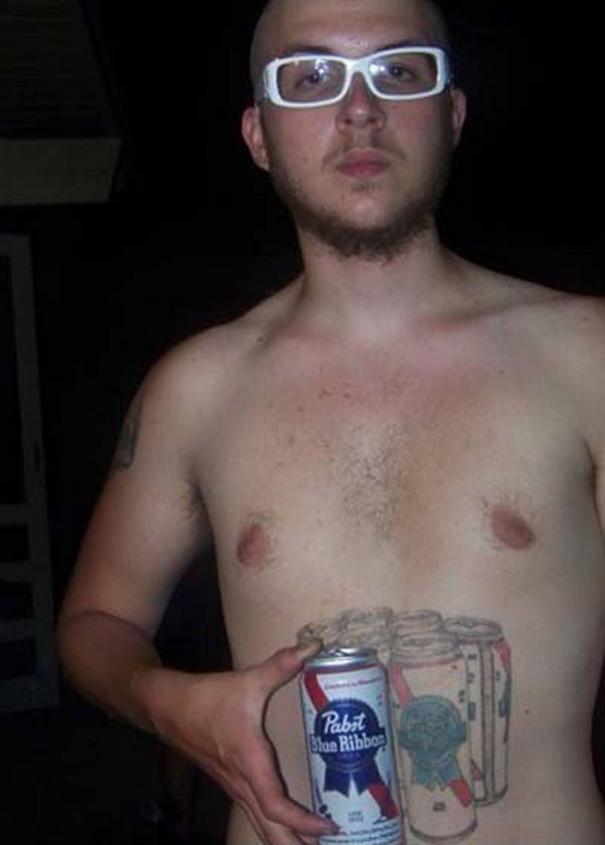Beer Tattoo