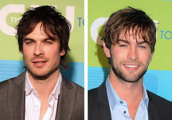 Chace Crawford and Ian Somerhalder Look Alike Celebrities