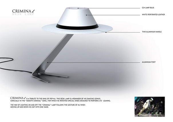 Criminal Desk Lamp(2)