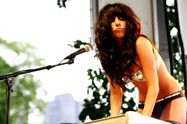 Lady Gaga Brown Hair