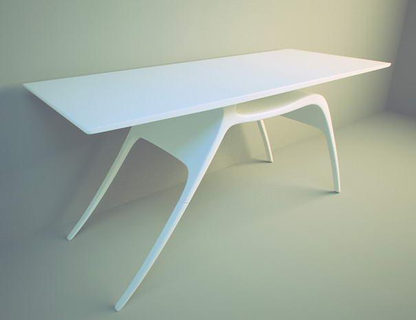 Reindeer Desk By Alex Kozynets