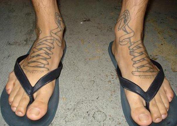 Sandals Tattoo
